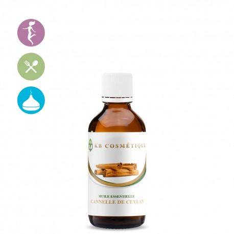 Huile Essentielle de Cannelle de Ceylan certifiée Bio