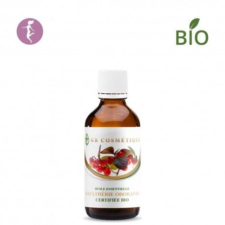 Huile essentielle de Gaulthérie odorante certifiée Bio