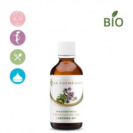 Huile essentielle de Thym saturéoïdes certifiée Bio