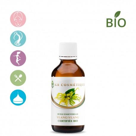 Huile essentielle de Ylang-Ylang II certifiée Bio